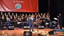 Tuzla Belediyesi Türk Halk Müziği Topluluğu, Karadeniz Türküleriyle Seslendi