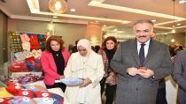 Tuzla Belediyesi Yaşlılar Merkezi, El Emeği Sergisi'nde Hayır İçin Üretti