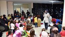 Anne Çocuk Eğitim Merkezi'nde 'Bir Kış Masalı' Yaşanıyor
