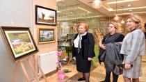 """Baysal'ın """"Toz Pastel Boya"""" Sergisi, Tuzla Belediyesi Rumeli Kültür Merkezi'nde Sergileniyor"""