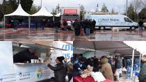 Tuzla Belediyesi, İBB Tanzim Satış Noktası'nda Vatandaşlara Çay ve Çorba İkramında Bulunuyor