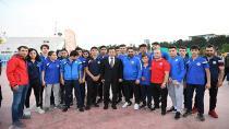 Tuzla Belediyesi, Milli Mücadele'nin 100. Yılında Gençlik Turnuvaları Düzenledi