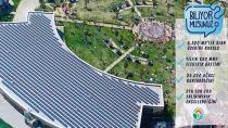Tuzla'da Güneş Enerji Santrali İle Her Yıl 25 Bin Ağaç Kurtarılıyor