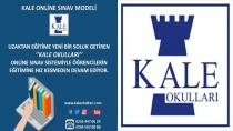 Kale Okulları'ndan Online Sınav Modeli