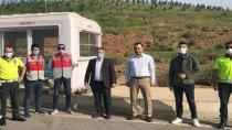 Suat Durak'tan Polis Noktasına Ziyaret