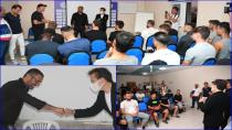 Başkan Yazıcı Tuzlaspor'u Ziyaret Etti