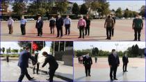 Tuzla Milli Eğitim Atatürk Anıtına Çelenk Koyarak Yeni Eğitim Öğretim Yılını Açtı