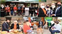 Gönül Elleri Çarşısı Ekolojik Ürünler Pazarı Açıldı