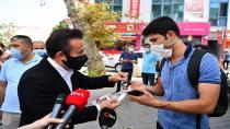 Tuzla'da Koronavirüs Tedbirlerine İnovatif Çözüm