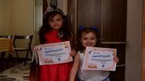 Evlerinden E-Hadi Etkinliklerine Katılan Çocuklara Teşekkür Belgesi