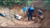 Kaçak Kazı Yapan Define Avcılarını Tuzla Zabıta Ekipleri Suçüstü Yakaladı