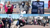 """ADD Tuzla Dünya Kadınlar Günü'nde """"Kadına Saygı"""" Resim Sergisi Düzenledi"""