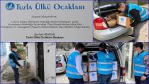 Tuzla Ülkü Ocakları 300 Aileye Erzak Kolisi Dağıttı