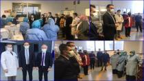 Talha Tayfur, 1 Mayıs Emek ve Dayanışma Günü'nü Kutladı