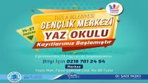 Tuzla Belediyesi Yaz Okulları İçin Kayıtlar Başladı