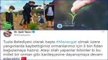 Tuzla Belediyesi'nden Manavgat'a 5 Bin Fidan Bağışı