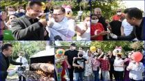 Başkan Yazıcı, Özel Çocuklara Kendi Elleriyle Cağ Kebabı İkram Ettti